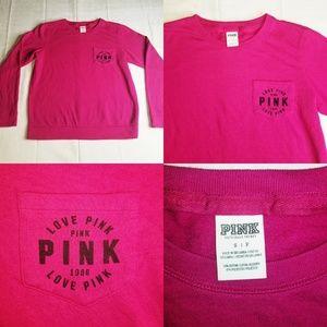 Pink Nation Victoria's Secret Love 1986 Crewneck